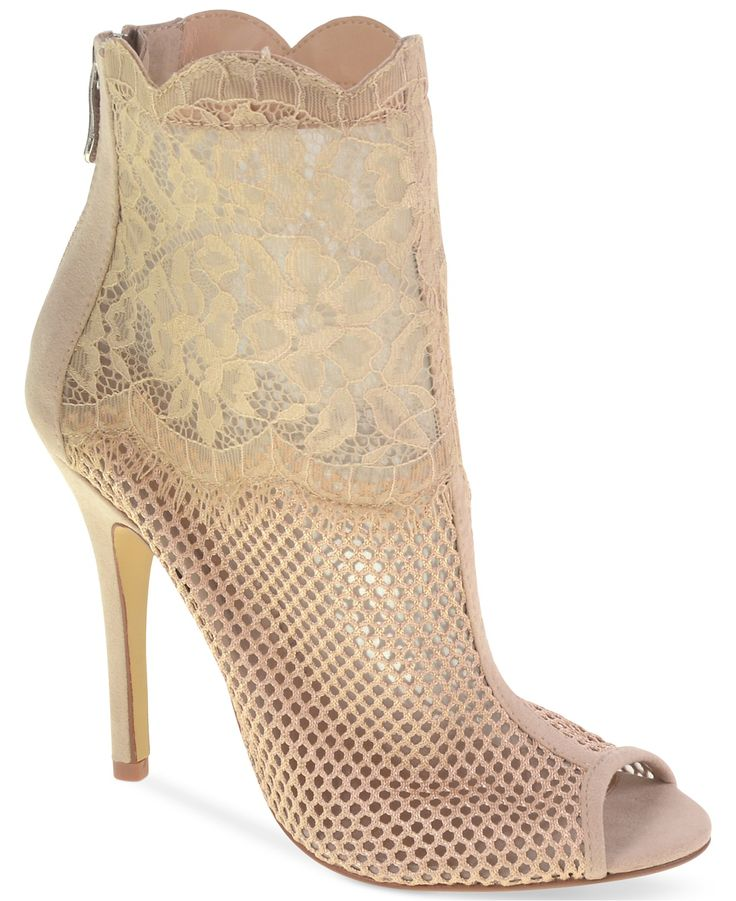 Chinese Laundry Jeopardy Mesh Lace Booties - Boots - Shoes - Macy's