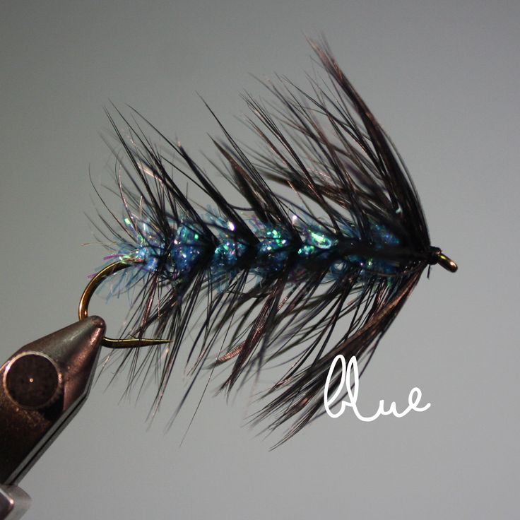 The Pyramid Lake Woolly Worm is an effective streamer for fly fishing on Pyramid Lake in northern NV for trophy Lahontan Cutthroat Trout.