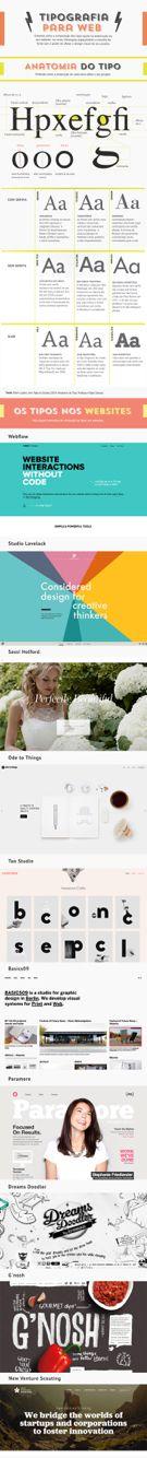 Tipografia: conceitos e uso na web