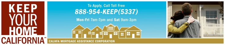 a good resource for Californian's having trouble with their home value or making payments