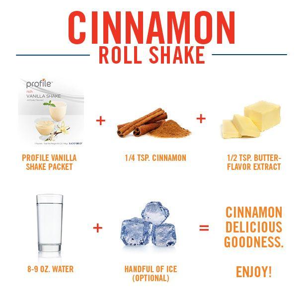Put a sweet spin on a Profile vanilla shake.