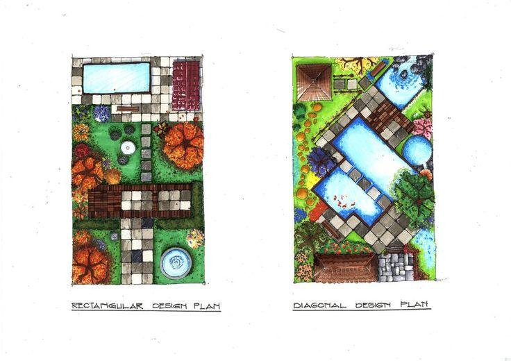 Marker Rendering (Garden Plan) by ~ray-agustin on deviantART