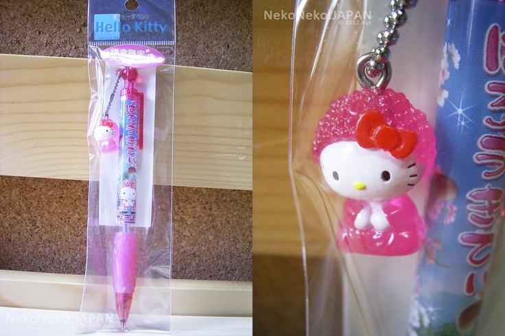 GOTOCHI HELLO KITTY Mechanical Pen KANAGAWA KAMAKURA Pink Daibutsu MADE IN JAPAN