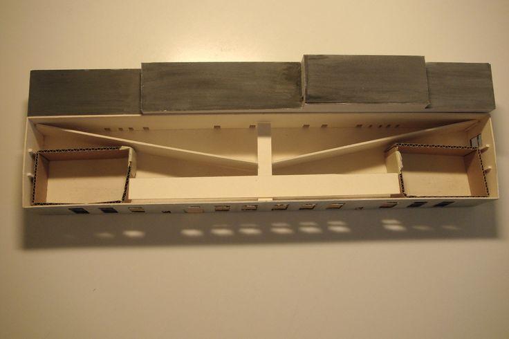bauen im bestand raum in raum i modell aus pappe karton und holzst nchen i meine. Black Bedroom Furniture Sets. Home Design Ideas
