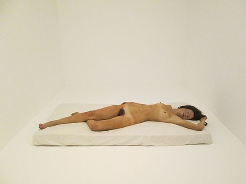 John de Andrea, Woman on Bed, 1974