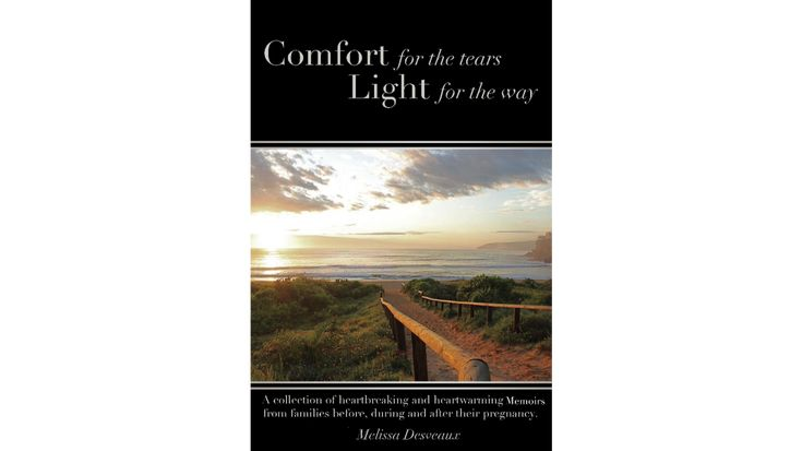 Please help me reach my goal in fundraising. This book is important to help raise awareness of pregnancy and infant loss. Donations over $25 wil receive a copy of the book.  Thank you for your generosity.   Melissa