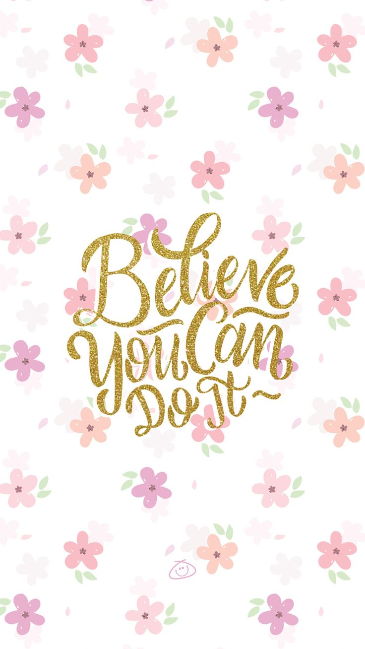 Free Colorful Smartphone Wallpaper - Believe you can do it  iPhone X Wallpaper 68328119333084894 11
