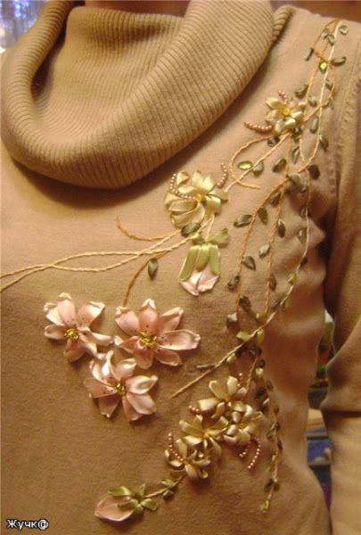 Best ribbon rose ideas on pinterest fabric roses diy