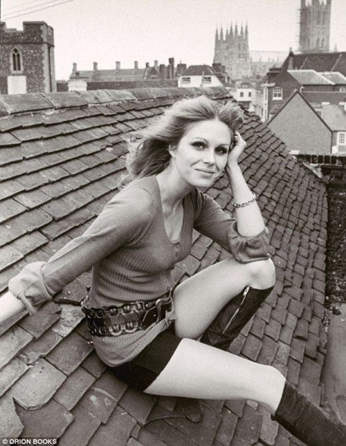 Young Joanna Lumley | Still a sexy, funny straight shooter and activist...