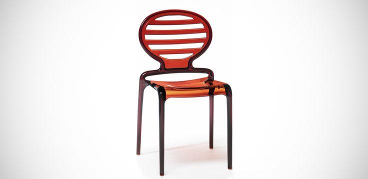 Modern chair Cokka by Scab, Designer Luisa Battaglia