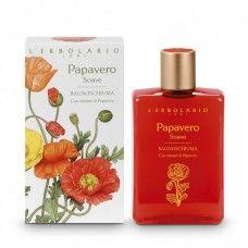 Pipacs illatú bőrtápláló fürdő és tusolózselé - Rendeld meg online! Lerbolario Naturkozmetikumok http://lerbolario-naturkozmetikumok.hu/kategoriak/testapolas/tusfurdok