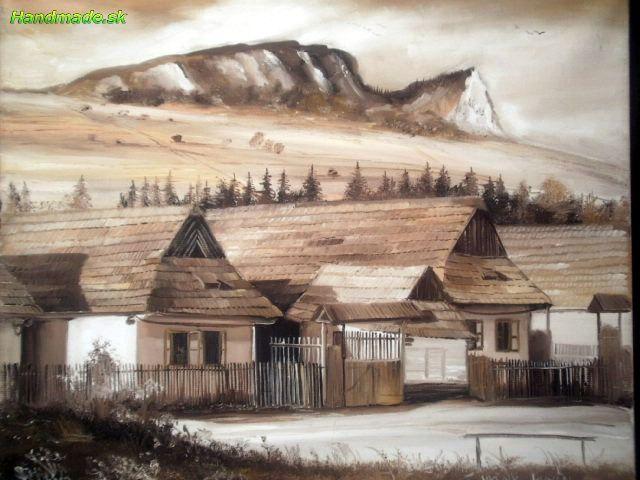 Vyšný Kubín - Maľba | handmade.sk - ručná výroba, výrobky, ručná práca, predaj, obchod
