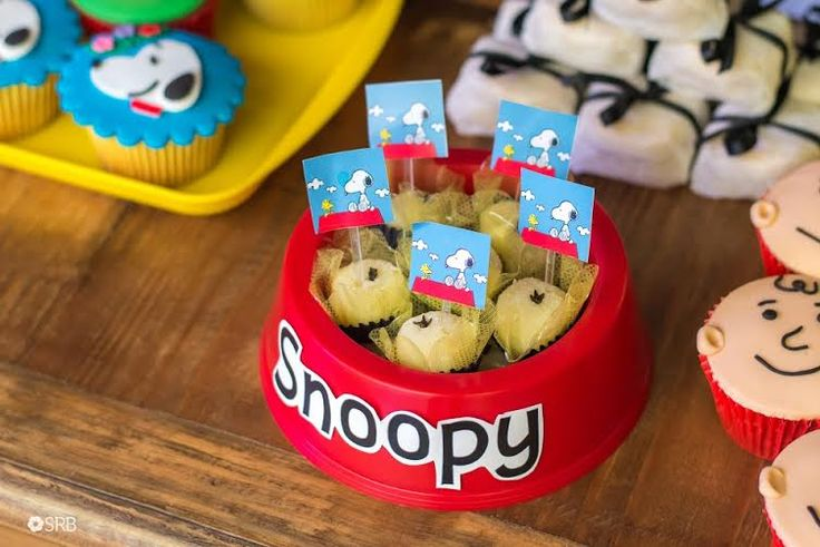 Decoração Snoopy By Carol Festiva – Inspire sua Festa – Bem vindo ao Blog