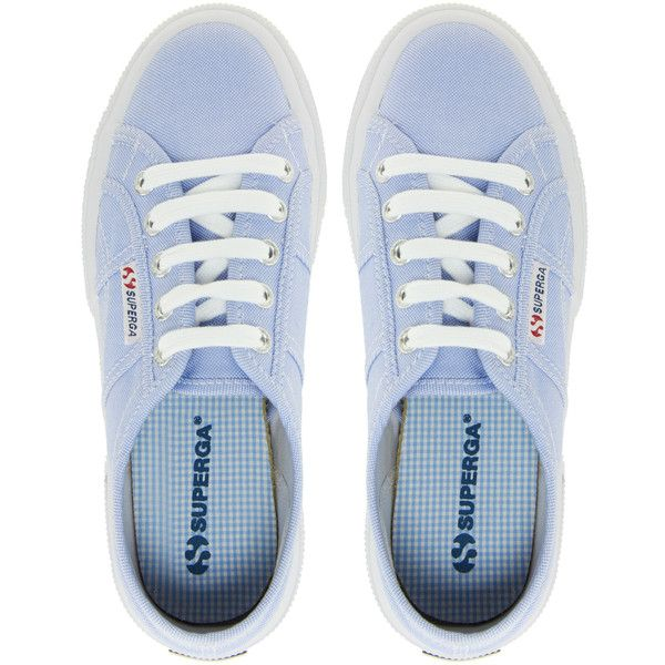 Superga 2750 Cotushirt Trainers (91 AUD) ❤ liked on Polyvore featuring shoes, sneakers, sapatos, scarpe, zapatillas, lightweight shoes, superga sneakers, light weight shoes, superga and superga shoes