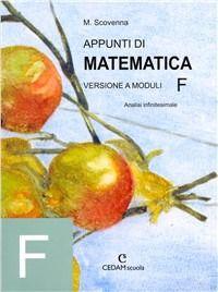 Prezzi e Sconti: #Appunti di matematica. modulo f: analisi New  ad Euro 19.10 in #Cedam #Libri