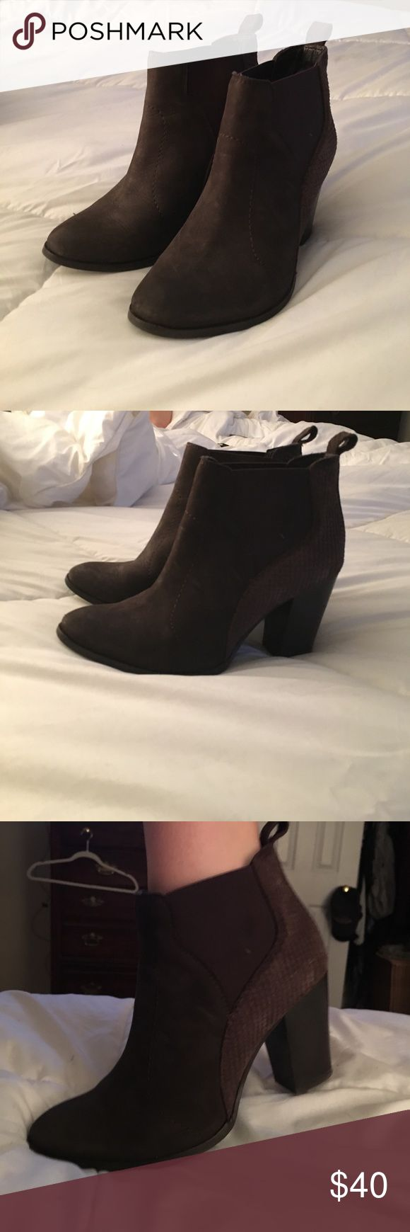 Seychelles booties 7.5 Seychelles brown booties 7.5 Shoes Ankle Boots & Booties
