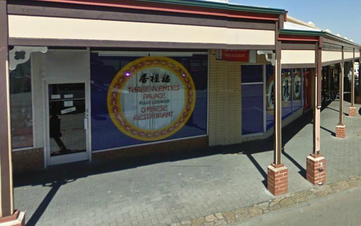 Three Plenties Chinese Restaurant, York Street Albany WA