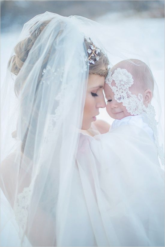 Beautiful mother and baby shoot. Captured By: Shalynne Imaging Photography ---> http://www.weddingchicks.com/2014/05/09/magical-winter-wedding-ideas/