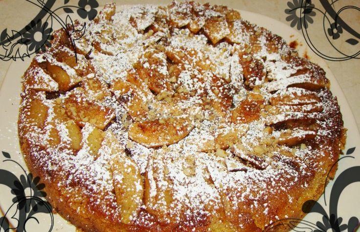 Μηλόπιτα εύκολη αναποδογυριστή! easy apple pie