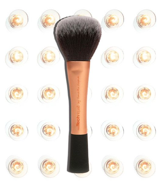 """13 BEST MAKEUP TOOLS  No. 1: Real Techniques Powder Brush, $9.99 TotalBeauty.com average reviewer rating: 10.0* Reviewers are enamored with this brush, saying that it's a """"steal"""" for the price and works better than higher-priced brushes. It has """"fluffy, soft bristles"""" and """"works like a charm."""" And, unlike many fluffy brushes, shedding isn't a problem. """"You get far more than what you pay for"""" ******MUST HAVE*********************"""