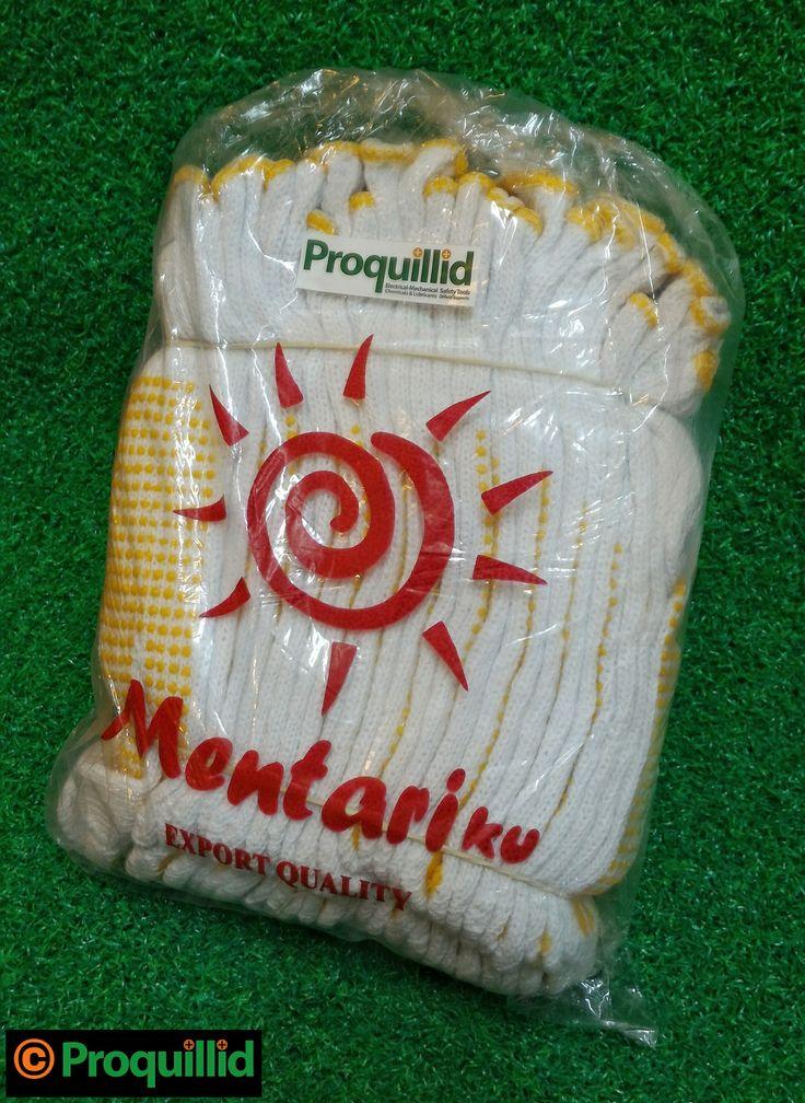 Sarung Tangan Bintik Kuning / Yellow Polka Dot Gloves 12 Pasang (1 Lusin) - Mentariku #Proquillid #Sarung #Tangan #Bintik #Kuning #Yellow #Polka #Dot #Polkadot #Dotting #Gloves #Safety #Hardware #Mentariku #Lusin #LTC #Glodok #Jakarta #Indonesia