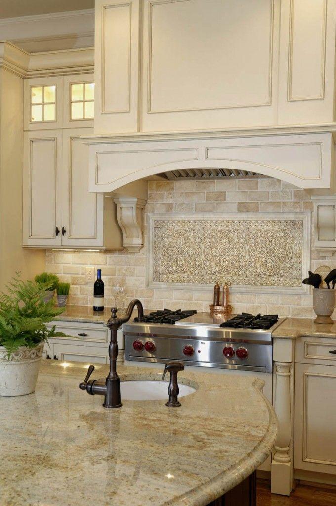 Kitchen Cabinets And Backsplash best 10+ cream cabinets ideas on pinterest | cream kitchen
