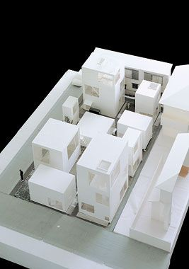 Perfect SANAA   Moriyama House   Model