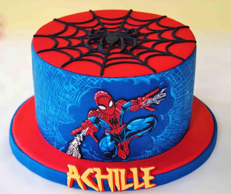 верхней палубе человек паук фото и картинки на торт образом, электронные