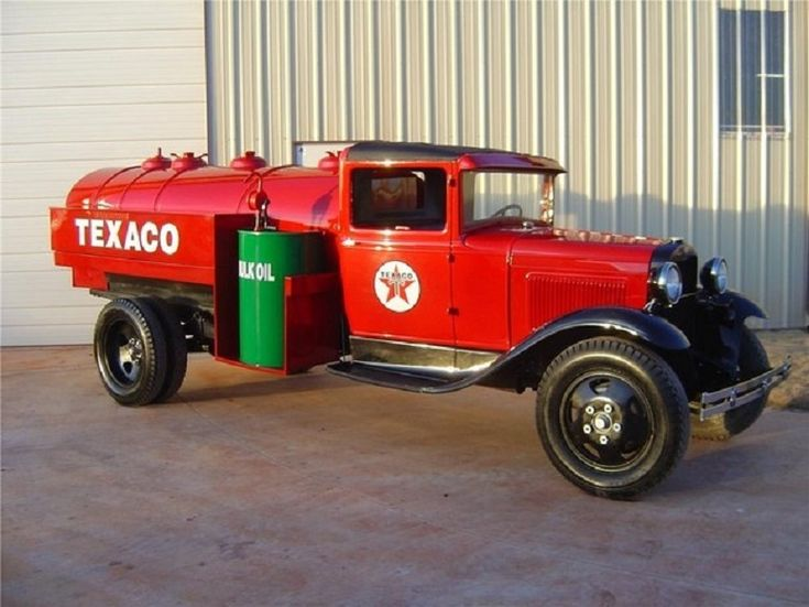 1931 ford model aa texaco gas tanker truck old gas for Garage ford nice