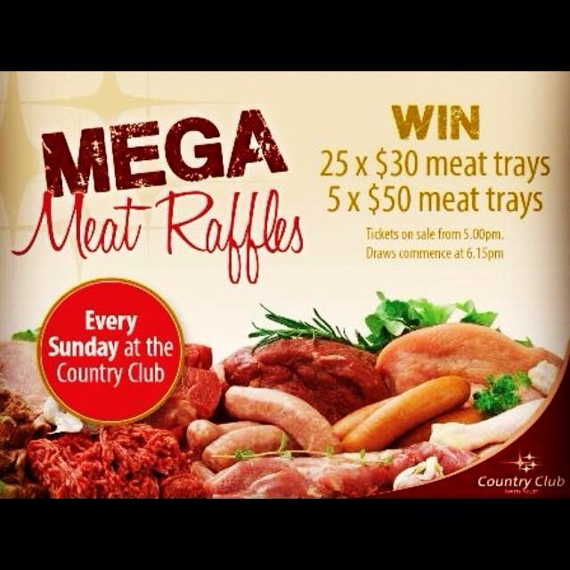 14 Best Fundraising Meat Raffle Images On Pinterest