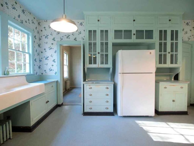 25 best ideas about 1920s kitchen on pinterest hoosier for Kitchen designs vintage