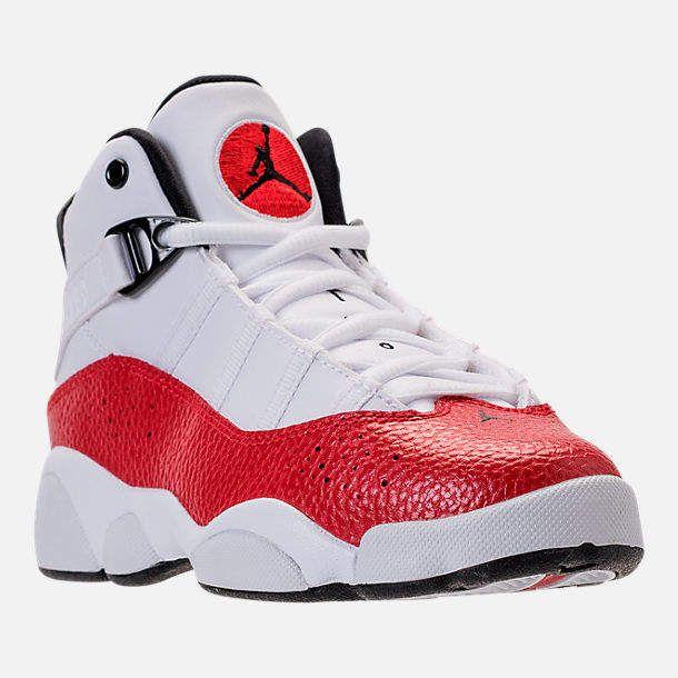 Nike Boys' Preschool Air Jordan 6 Rings Basketball Shoes | Nike ...