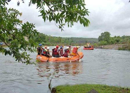White Water Rafting at Kolad >>>#camping #Rafting #WhiteWaterRafting #Maharashtra