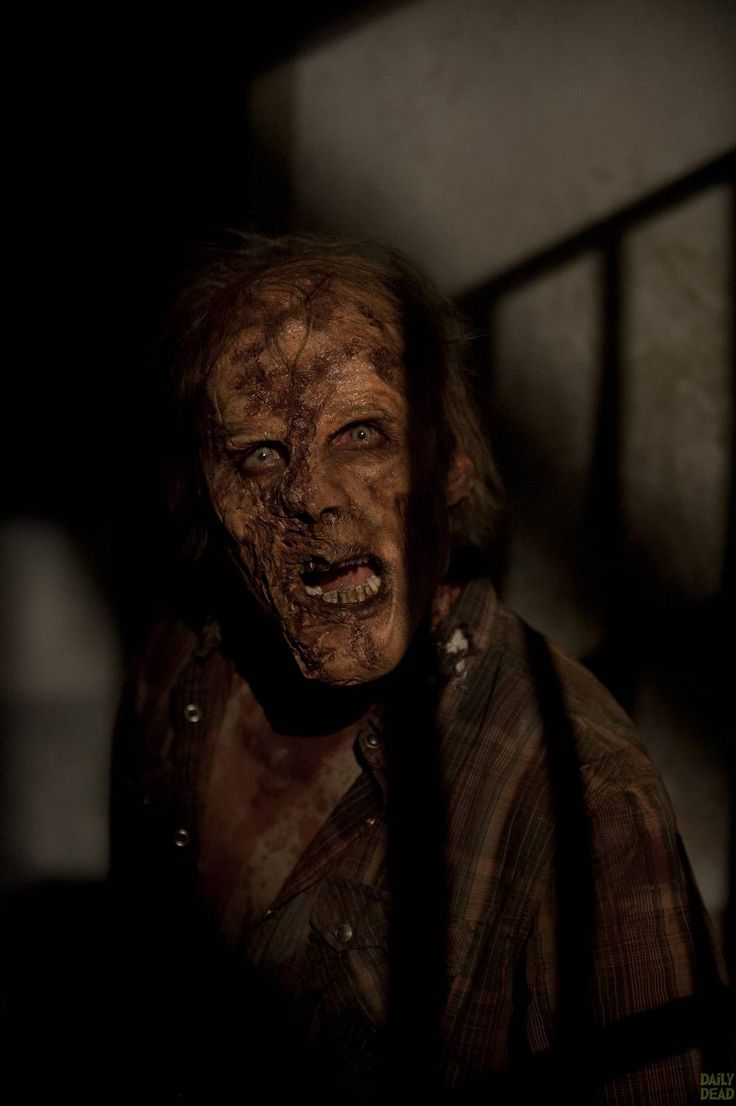 Walkers - The Walking Dead _ Season 4, Episode 15 - Photo Credit: Gene Page/AMC  Man, someone, someone has to do something about zombie dental hygiene!