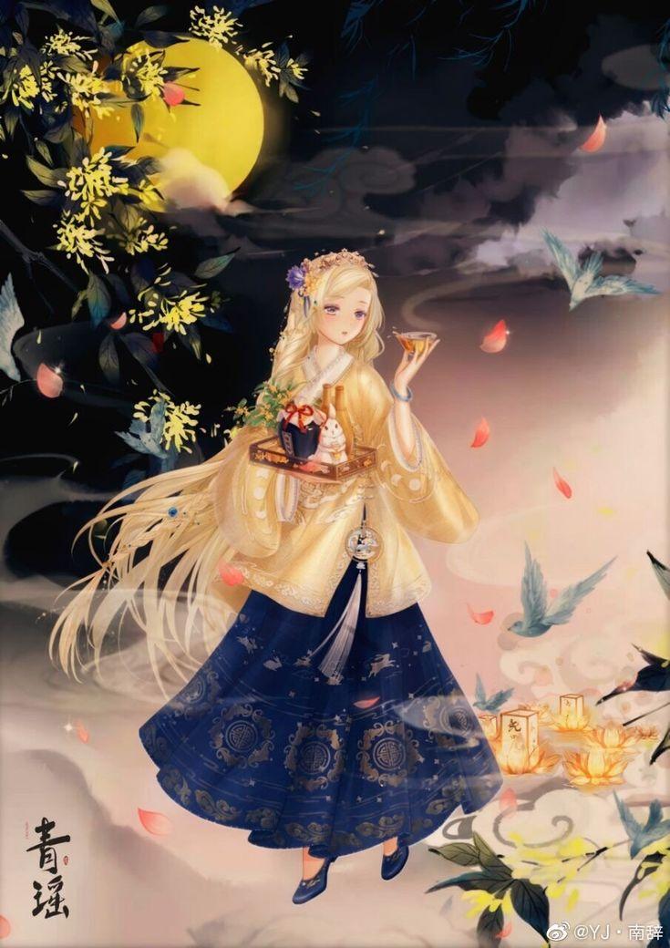 Épinglé par Misaki sur HANFU en 2020 Image manga, Tulipe