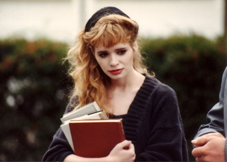 """The late, lamented Adrienne Shelley (1966-2006) as Audry from the wonderfully offbeat movie """"The Unbelievable Truth"""" (1989)"""