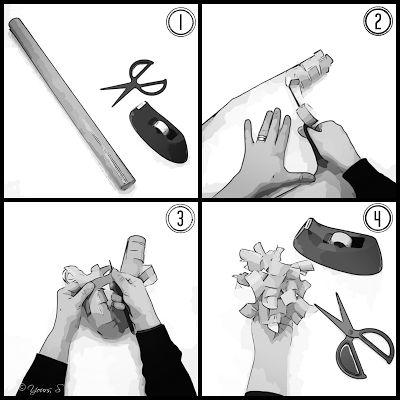 Yours, S: [DIY] HELPPO PAKETTIRUUSUKE @YoursSblogi #paketointia #juhlat #diy