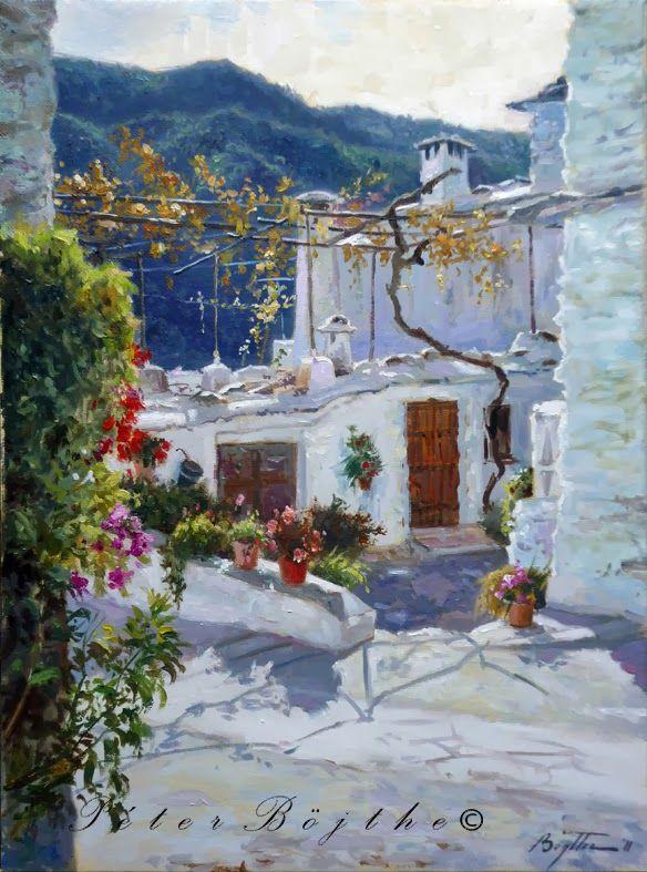 Spain Asturias Easy Acrylic Painting