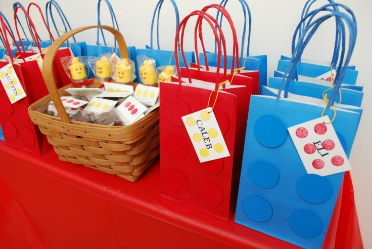 The Ultimate LEGO Party: favors, food, desserts, decorations, and more!