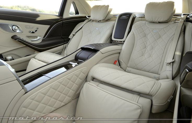 Mercedes-Maybach S 600, Touchdown