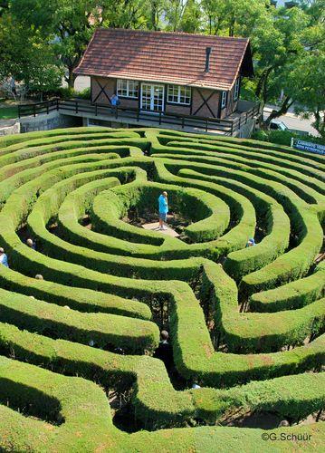 Labirinto - Nova Petrópolis, RS ©Germano Schüür