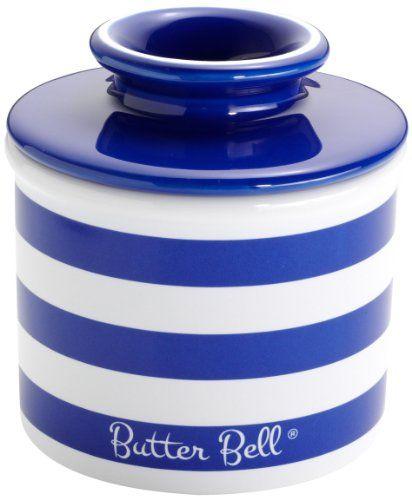 Cobalt Blue Kitchen Accessories   Butter Crock #cobaltbluekit
