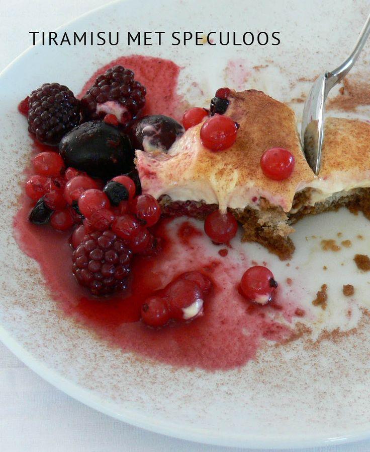 Tiramisu met speculoos. Het Sinterklaas Empty the Fridge recept van 2014: een Italiaanse dessert-klassieker met een Belgische twist.
