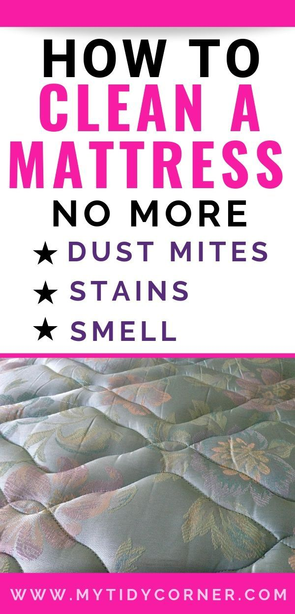 How To Clean A Mattress Simple Cleaning Tips Mattress Cleaning Baking Soda Cleaning Deep Cleaning Tips