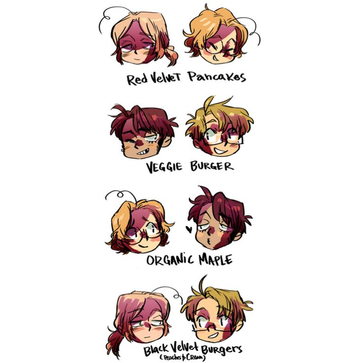 I don't really ship any of these, but I love the names!