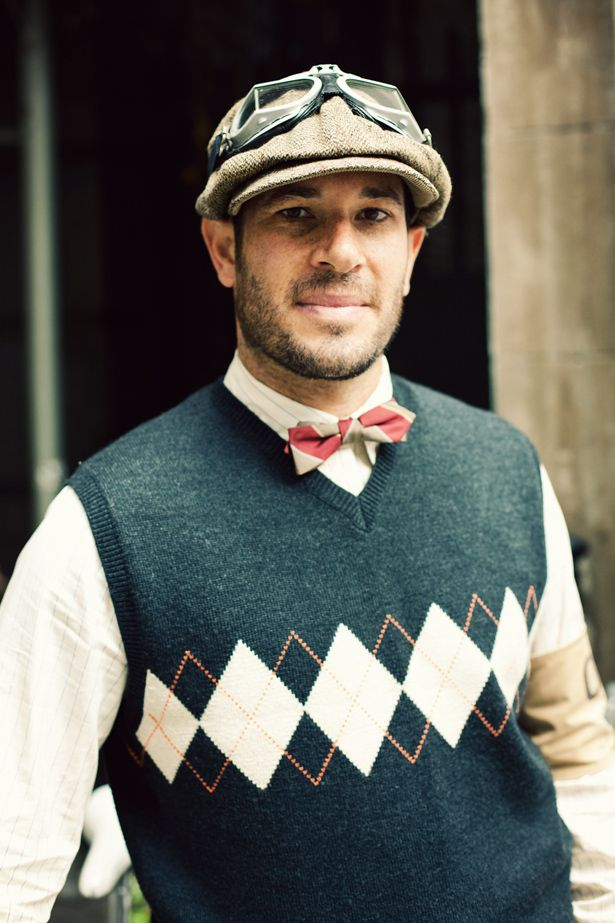 HUSBAND??  Seriously though, a new bucket list item: New York's Annual Ralph Lauren Tweed Run. Yes.