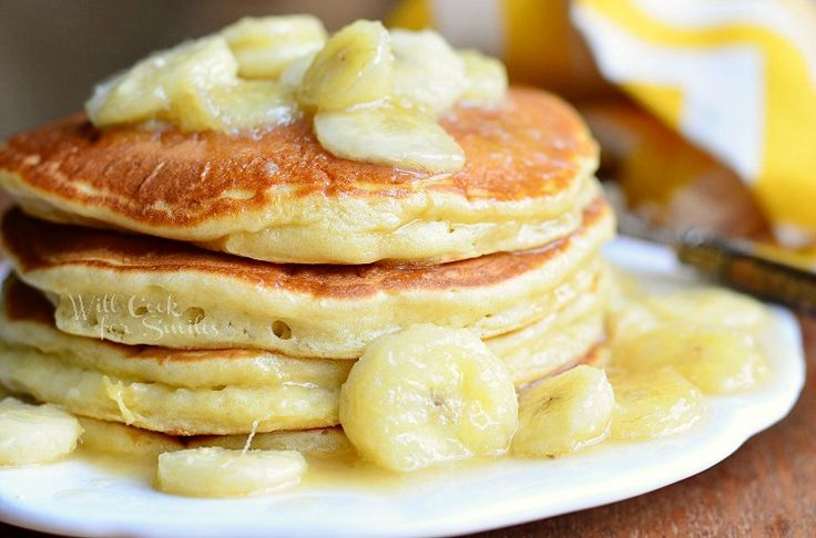 Bananas Foster Pancakes | Recipes - Breakfast | Pinterest