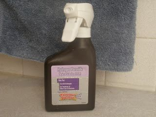 Automatic Shower Cleaner Refill     1/3 cup hydrogen peroxide  1/3 cup rubbing alcohol  5 drops Dawn dish washing detergent  1 1/2 teaspoons white vinegar  1 cup wate