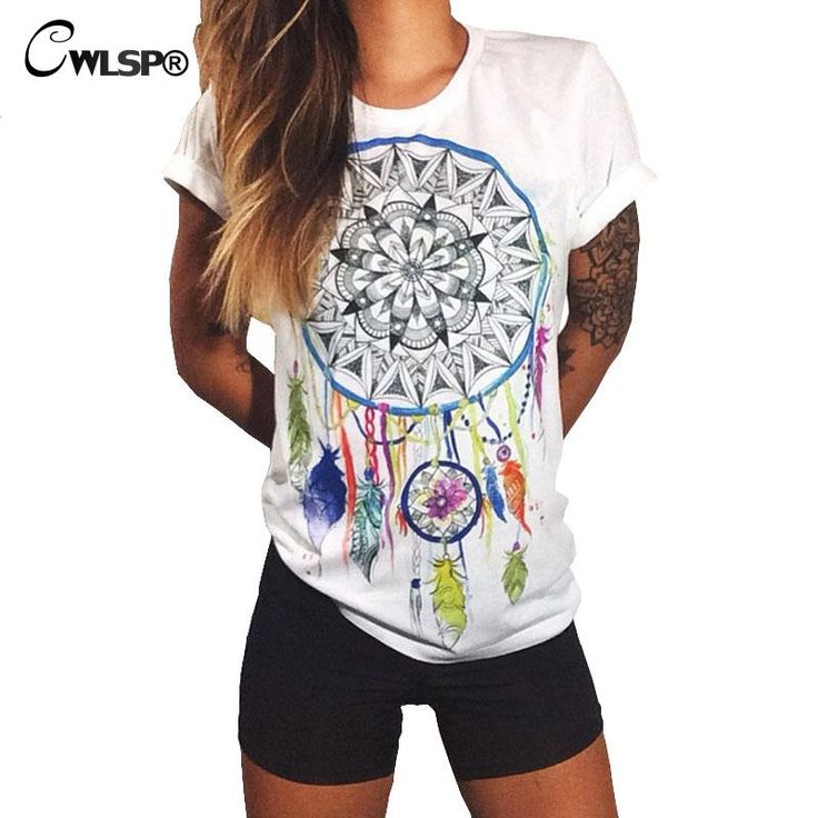 2016 Hot Sale Summer Women T-Shirt Short Sleeve Compass Print T Shirt Female Tops Tee Shirt Femme Retro T Shirt  Harajuku QA1109