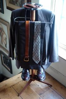 full length view of the vintage gentleman's valet